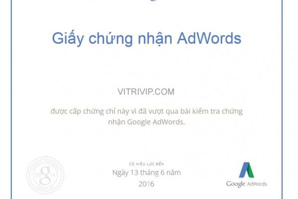 Công thức nào trình bày cách Xếp hạng quảng cáo được xác định trên Google Tìm kiếm?