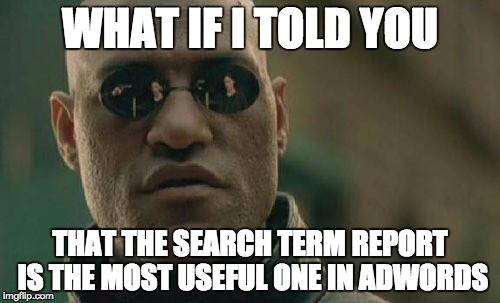 xem xét chiến dịch adwords
